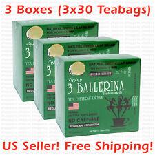 3 Ballerina Tea Dieters' Drink (Regular Strength) -  3 Boxes x 30 Tea bags