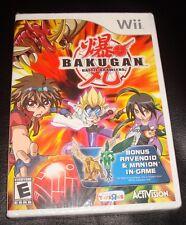 Bakugan Battle Brawlers for the Nintendo Wii (Brand New) Bonus not Valid