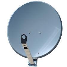 Gibertini OP PL 85cm Antenne Spiegel Aluminium Alu Schüssel Robust Antrazit TOP