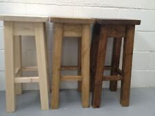 Handmade Solid Wood Rustic Tables