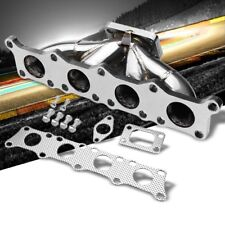 Race SS Chrome T25 Flange Turbo Manifold+WG Port For 97-06 Audi/VW 1.8L/1.8T 20v