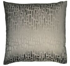 $190 NIP Donna Karan SILVER Fuse European EURO Pillow Sham Designer Gray RARE