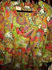 Vintage Concept 70s Swirl Dress Mod Mad Men Empire Waist Maxi Dress Sz S-M Euc