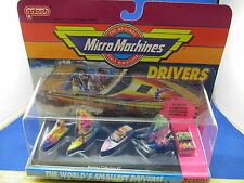 VTG NOS Galoob Micro Machines Drivers Collection Riders Boating Jet Ski Boat