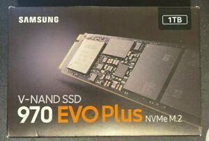 Samsung 970 EVO Plus 1TB, Internal, M.2 Solid State Drive - (MZ-V7S1T0B/AM)