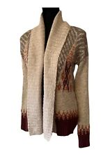 Abercrombie & Fitch Cardigan Sweater Southwestern Shawl Sweater Women's Small