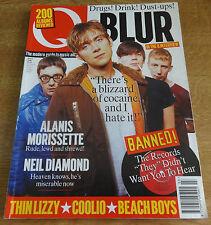 Q Magazine, March 1996, Blur, Thin Lizzy, Beach Boys, Alanis Morissette