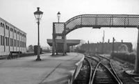 PHOTO  LINCOLNSHIRE  BOURNE RAILWAY STATION 1961 VIEW SOUTHWARDS TOWARDS ESSENDI
