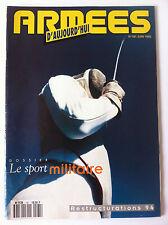 Armées d'Aujourd'hui n°181 du 06/1993; Dossier le sport Militaire
