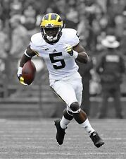 Michigan Wolverines JABRILL PEPPERS Glossy 11x14 Photo Spotlight Print Poster