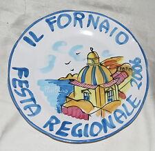 """Il Fornaio Festa Regionale 10"""" Plate Positano 2006"""