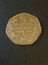 Beatrix Potter 1866-1943 Circulated Fifty Pence 50p Coin - UK Seller