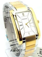 Fossil 100 M Water Resistant, Two-tone Man Watch, PR5413