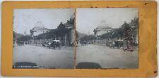 La Bourboule Boulevard Carriole France Photo n°PL40L6 Stereo Vintage