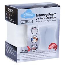 2 x Memory Foam Pillow Knee Cushion Maternity Contour Orthopedic Sleep Spacer AU