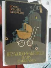 c.1920s Heywood Wakefield Baby Carriage Cardboard Standee Sign Vintage ORIG BIG