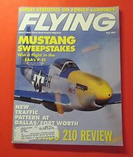 FLYING MAGAZINE MAY/1997...USED PLANE REPORT: CESSNA T210...P-51 SWEEPSTAKES
