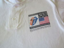 ROLLING STONES VINTAGE 1989 STEEL WHEELS CREW ONLY TOUR SHIRT STONES LARGE