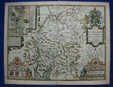 WESTMORLAND, WESTMORELAND - Original antique atlas map, John Speed, 1623-32