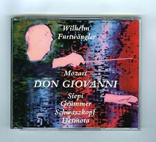 3 CDs WILHELM FURTWANGLER MOZART DON GIOVANNI SCHWARZKOPF (HUNT PRODUCTIONS)