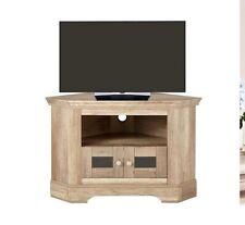 Ideal Home- Wiltshire2 Door Corner TV Unit In Rustic Oak-Effect