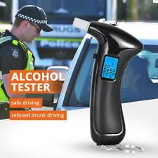 NEW Digital LCD Police Breathalyzer Breath Test Alcohol Tester Analyzer Detector
