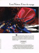 PUBLICITE ADVERTISING 074  1991  LOUIS VUITTON  collection sac  NOE BICOLORE