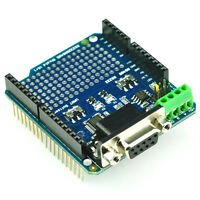 Tinysine RS232 RS485 Shield For Arduino - Convert UART to RS232 or RS48