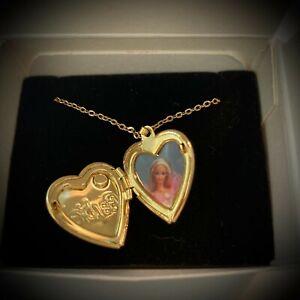 Barbie Locket Necklace by Avon-1998