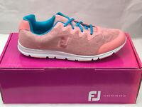NEW FootJoy enJoy 95700 Womens Golf Shoes Pink Rose 10M Were $90