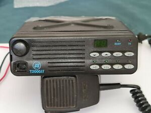Tait T2015 450-520MHz Two Way Radio with Sleeve Cradle, Mic and 12V Power Plug