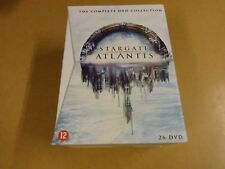 26-DISC DVD BOX / STARGATE ATLANTIS - THE COMPLETE COLLECTION