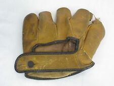 Old 1930s Wilson SoftBall Split Finger Baseball Glove Vintage Antique 675