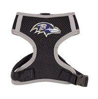 Baltimore Ravens NFL Little Earth Productions Dog Harness Vest Sizes S-3XL