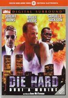 Die Hard Duri a Morire DVD Nuovo Sigillato Bruce Willis Samuel L. Jackson Irons