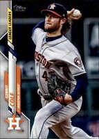 2020 Topps #2 Gerrit Cole Houston Astros League Leaders Baseball Card