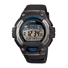 Casio Men's Sport W-S220-8AV Grey Rubber Quartz Watch with Black