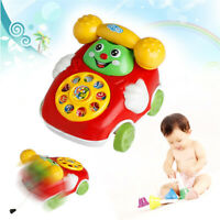 Baby Music Toy Kid Cartoon Phone Car Children Educational Developmental Gift Toy