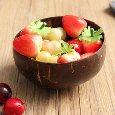 Coconut Retro Eco-friendly Natural Shell Bowl Handicraft Home Art Work Decor
