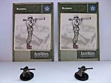 Bazooka x2, Axis & Allies-Base Set, 16/48, Tarjeta C/W