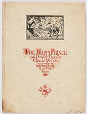 The Happy Prince and Other Tales, Oscar Wilde, Books, Wilde, British, Irish, 1st