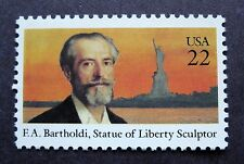Sc # 2147 ~ 22 cent Frederic Auguste Bartholdi Issue (cc15)