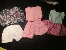 """Doll Clothes 18"""" ~ Pink Cotton Pj's, Short Outfit & Summer Dress #143"""