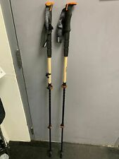 New Switchback Bamboo adjustable Ski Poles | Size: 110-135