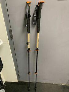 New Switchback Bamboo adjustable Ski Poles   Size: 110-135