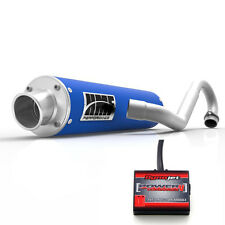 HMF Performance Full System Exhaust Pipe Blue Power Commander PC5 F+I Raptor 700
