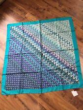 Missoni 100% silk square scarf, $200