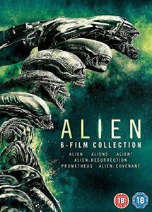Alien 1-6 Boxset [DVD] [2017] [DVD][Region 2]