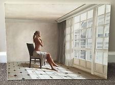Alexandre monntoya Large Original réalisme nu peinture à l'huile sur toile Alexandre