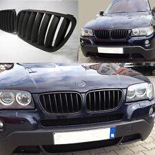 CALANDRE BMW X3 E83 10/2003-09/2006 PHASE 1 NOIRE HARICOT GRILLE